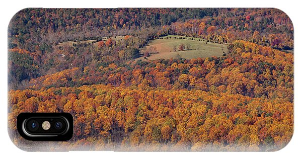 Autumn Mountain Side IPhone Case