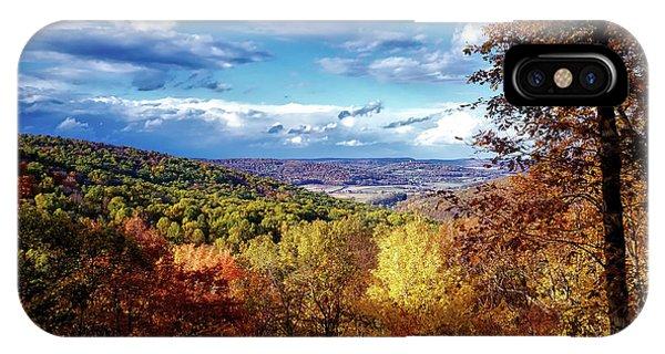 Catoctin Mountain Park iPhone Case - Autumn Mountain Vista by Mountain Dreams