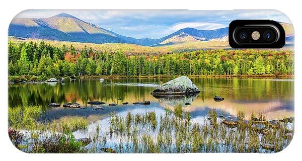 Autumn Mt.katahdin Baxter Sp Maine IPhone Case