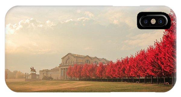 Tree iPhone Case - Autumn On Art Hill by Scott Rackers