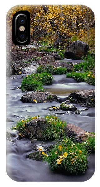 Autumn On Mill Creek IPhone Case