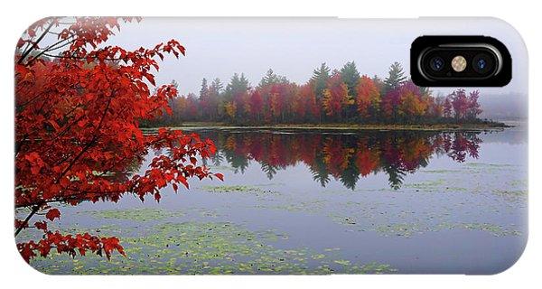 Autumn On The Bellamy IPhone Case