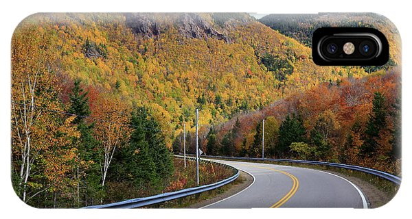 Autumn On The Cabot Trail, Cape Breton, Canada IPhone Case