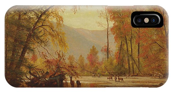 Autumn On The Delaware IPhone Case