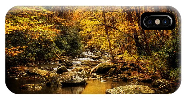 Autumn On The Tellico River IPhone Case