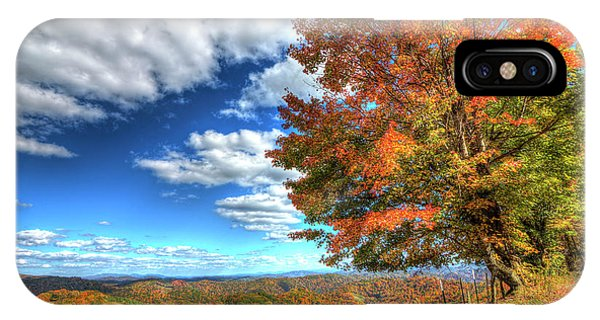 Autumn On The Windfall IPhone Case