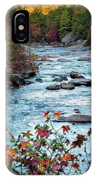 Autumn On Wilson Creek IPhone Case