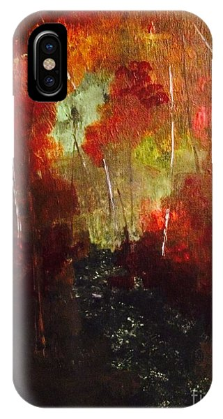 IPhone Case featuring the painting Sunset Trail by Denise Tomasura