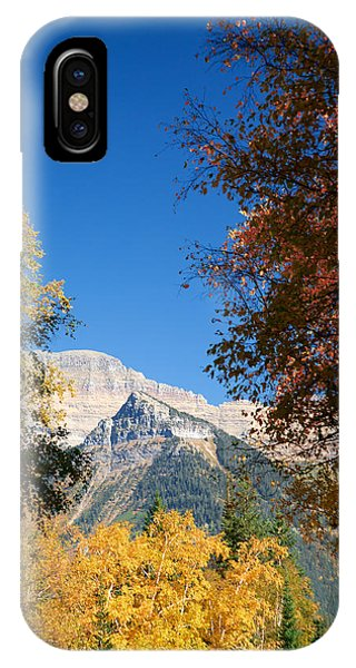 Autumn Peaks IPhone Case