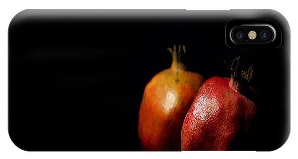 Autumn Pomegranate IPhone Case