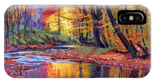 Autumn Prelude IPhone Case