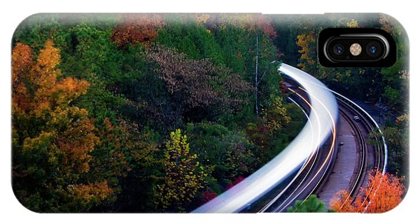 Autumn Rails IPhone Case