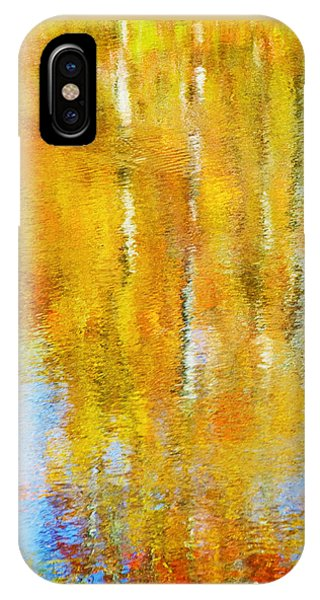 Autumn Reflection IPhone Case