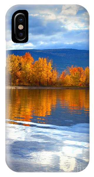 Autumn Reflections At Sunoka IPhone Case