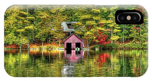 Fall Foliage iPhone Case - Autumn Reflections by Evelina Kremsdorf
