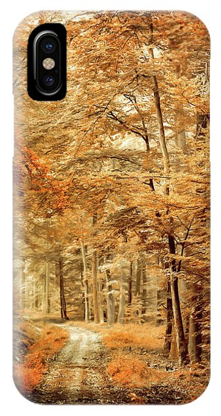 Autumn Secret IPhone Case