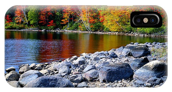 Autumn Shoreline IPhone Case