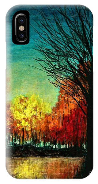 Autumn Silhouette  IPhone Case