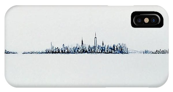 Autumn Skyline IPhone Case