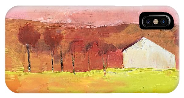 IPhone Case featuring the painting Autumn Stillness by Michelle Abrams