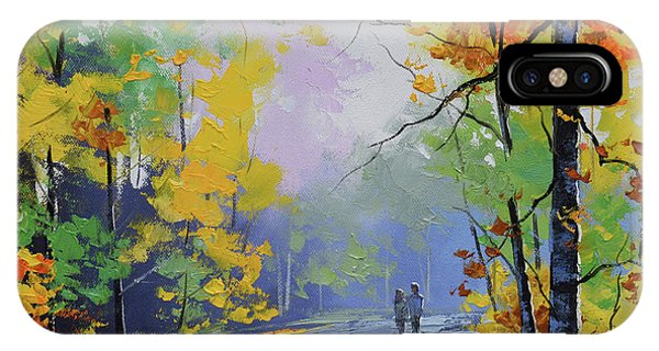Beauty In Nature iPhone Case - Autumn Stroll by Graham Gercken