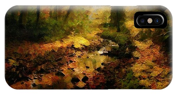 Autumn Sunrays IPhone Case
