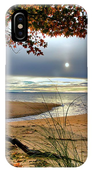 Autumn Sunrise On The James IPhone Case