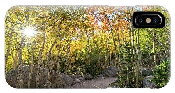 Autumn Sunrise Phone Case by Robert Yone