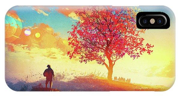 Autumn Sunrise IPhone Case
