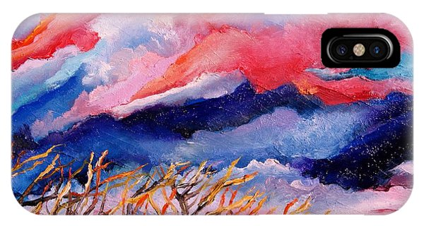 Autumn Sunset In The Sky IPhone Case