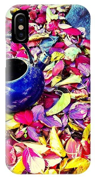Autumn Tea IPhone Case