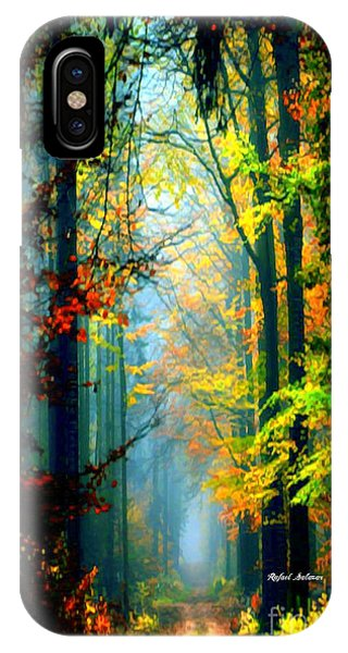 Autumn Trails In Georgia IPhone Case