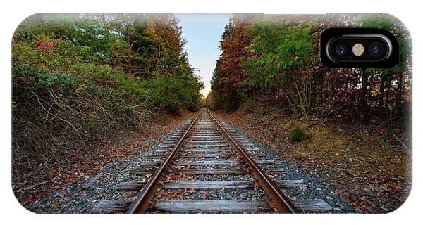 Autumn Train IPhone Case