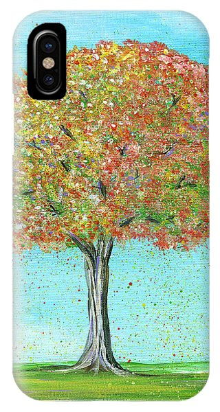 Autumn Tree IPhone Case