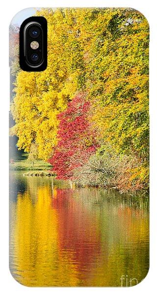 Autumn Trees IPhone Case
