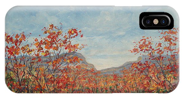 Autumn View. IPhone Case