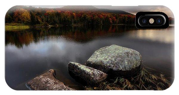 Autumn Visit IPhone Case