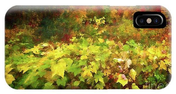Autumn Watercolor IPhone Case