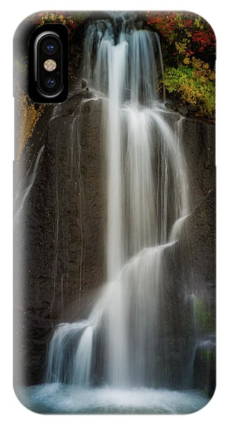 Autumn Waterfall IPhone Case