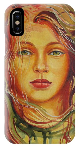 Autumn Wind 2 IPhone Case