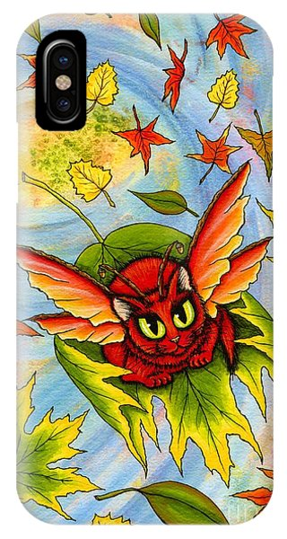 Autumn Winds Fairy Cat IPhone Case