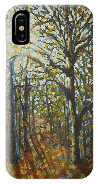 Autumn Wood IPhone Case