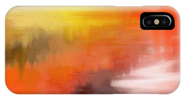 Autumnal Abstract  IPhone Case