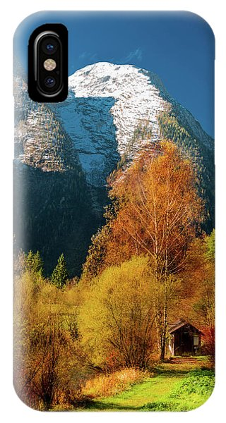 IPhone Case featuring the photograph Autumnal Gift by Geoff Smith
