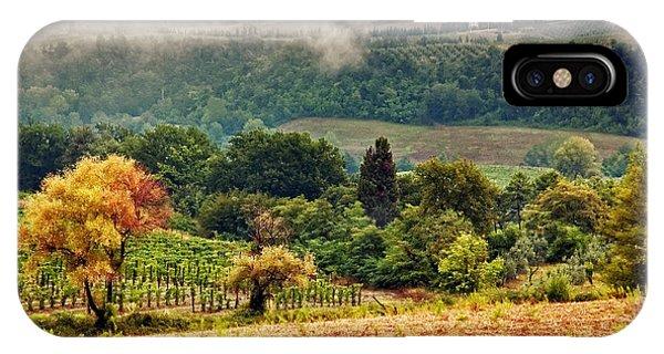 Autumnal Hills IPhone Case