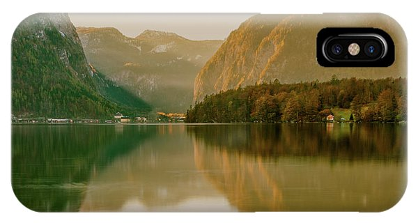 IPhone Case featuring the photograph Autumnal Reflections  by Geoff Smith