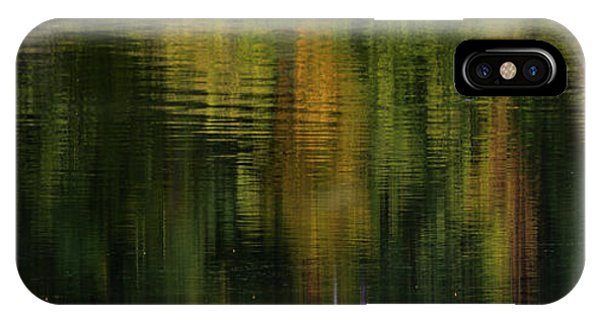 Autumnal Reflections IPhone Case