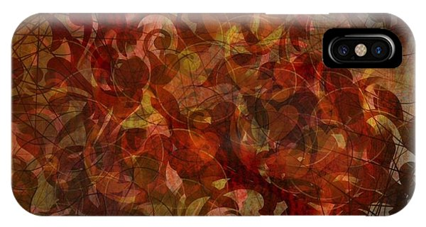 Autumnal Waning IPhone Case