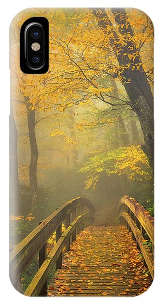 Autumn's Bridge To Heaven IPhone Case