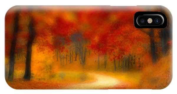 Autumn's Promise IPhone Case